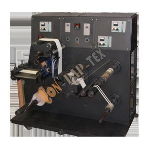 Label Stock Doctoring Rewinding Machine