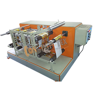 Winding Rewinding Machine with Thermal Transfer Overprinter