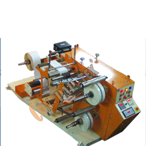 Winding Rewinding Machine with Slitting System